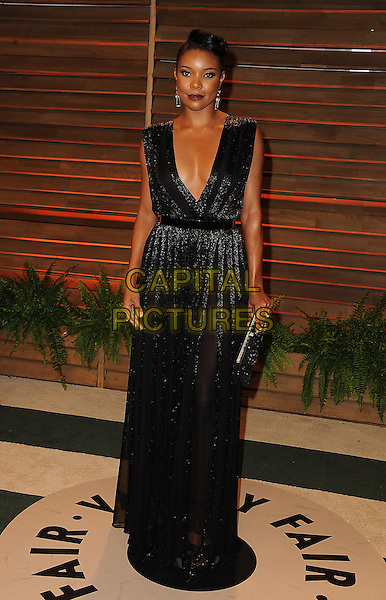 WEST HOLLYWOOD, CA - MARCH 2: Gabrielle Union arrives at the 2014 Vanity Fair Oscar Party in West Hollywood, California on March 2, 2014.  <br /> CAP/MPI/MPI213<br /> &copy;MPI213/MediaPunch/Capital Pictures