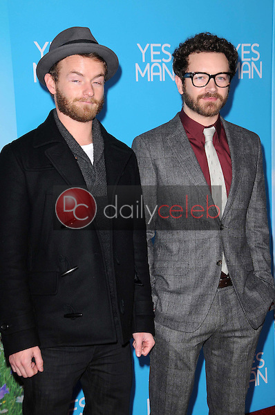 Christopher Masterson and Danny Masterson <br /> at the Los Angeles Premiere of 'Yes Man'. Mann VIllage Theater, Westwood, CA. 12-17-08<br /> Dave Edwards/DailyCeleb.com 818-249-4998