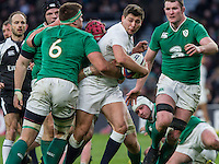 Ben Youngs in action, England v Ireland in a 6 Nations match at Twickenham Stadium, Whitton Road, Twickenham, England, on 27th February 2016