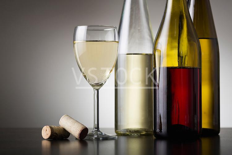 Variety of wines
