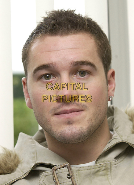 PAUL ROBINSON.Tottenham Hotspur and England Goalkeeper at Tottenham Training Ground, London, January 6th 2005..portrait headshot footballer spurs .Ref: DH.www.capitalpictures.com.sales@capitalpictures.com.©David Hitchens/Capital Pictures .