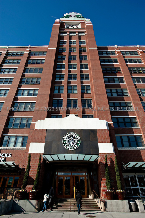 3/2/2009--Seattle, WA, USA..Starbuck's corporate headquarters in Seattle, WA...©2009 Stuart Isett. All rights reserved.