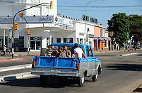 URUGUAY Salto, old pick-up car