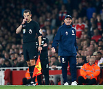 West Brom's Tony Pulis looks on dejected during the premier league match at the Emirates Stadium, London. Picture date 25th September 2017. Picture credit should read: David Klein/Sportimage