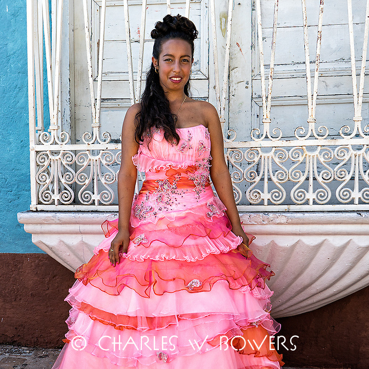 Faces Of Cuba - Princess for the day 500 years for Trinidad<br />