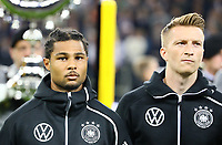 Serge Gnabry (Deutschland Germany), Marco Reus (Deutschland, Germany) - 06.09.2019: Deutschland vs. Niederlande, Volksparkstadion Hamburg, EM-Qualifikation DISCLAIMER: DFB regulations prohibit any use of photographs as image sequences and/or quasi-video.
