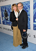 Steven Spielberg, Kate Capshaw at the premiere for the HBO documentary &quot;Spielberg&quot; at Paramount Studios, Hollywood. Los Angeles, USA 26 September  2017<br /> Picture: Paul Smith/Featureflash/SilverHub 0208 004 5359 sales@silverhubmedia.com