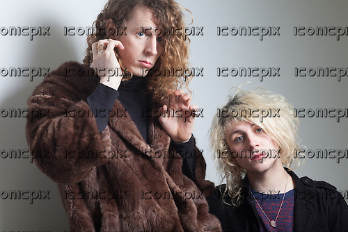 Mystery Jets - Blaine Harrison and Jack Flanagan - Paris France - 05 Jan 2016.  Photo credit: Trip Fontaine/Dalle/IconicPix