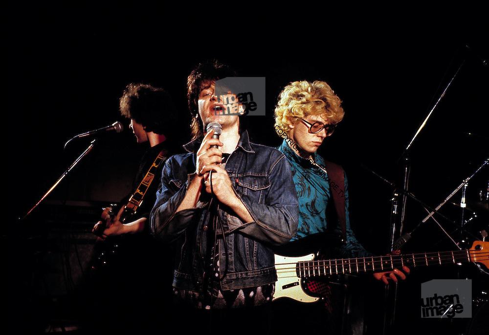 Photograph of U2 - The Edge, Bono, Larry and Adam Clayton at