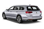 Car pictures of rear three quarter view of 2020 Volkswagen Passat GTE 5 Door Wagon Angular Rear