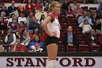 27 October 2005: Bryn Kehoe during Stanford's 3-0 win over Oregon in Stanford, CA.