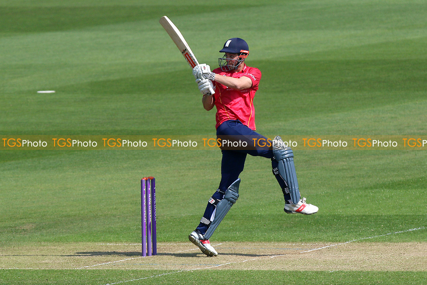 Alastair Cook in batting action for Essex during Glamorgan vs Essex Eagles, Royal London One-Day Cup Cricket at the SSE SWALEC Stadium on 7th May 2017
