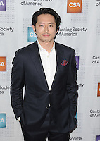 www.acepixs.com<br /> <br /> January 19 2017, LA<br /> <br /> Steven Yeun arriving at the 2017 Annual Artios Awards at The Beverly Hilton Hotel on January 19, 2017 in Beverly Hills, California<br /> <br /> By Line: Peter West/ACE Pictures<br /> <br /> <br /> ACE Pictures Inc<br /> Tel: 6467670430<br /> Email: info@acepixs.com<br /> www.acepixs.com