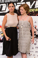 24.07.2012. Presentation at the Madrid Film Academy of the movie 'Impavido&acute;, directed by Carlos Theron and starring by Marta Torne, Selu Nieto, Nacho Vidal, Carolina Bona, Julian Villagran and Manolo Solo. In the image Marta Torne (L) and Carolina Bona (R). (Alterphotos/Marta Gonzalez) /NortePhoto.com*<br />