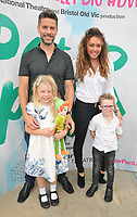 "LONDON, ENGLAND - AUGUST 08: Hugh Hanley, Michelle Heaton and their kids at the ""Peter Pan"" production press performance, Troubadour White City Theatre, Wood Lane, on Saturday 27 July 2019 in London, England, UK.<br /> CAP/CAN<br /> ©CAN/Capital Pictures"