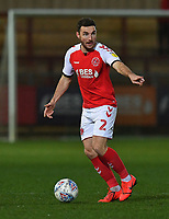 Fleetwood Town's Lewis Coyle<br /> <br /> Photographer Dave Howarth/CameraSport<br /> <br /> Leasing.com Trophy Northern Section Round Three - Fleetwood Town v Accrington Stanley - Tuesday 7th January 2020 - Highbury Stadium - Fleetwood<br />  <br /> World Copyright © 2018 CameraSport. All rights reserved. 43 Linden Ave. Countesthorpe. Leicester. England. LE8 5PG - Tel: +44 (0) 116 277 4147 - admin@camerasport.com - www.camerasport.com