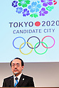 Takayuki Kishii, MARCH 6, 2013 : Takayuki Kishi Dr. of Engineering attends a Media briefing about presentations of Tokyo 2020 bid Committee in Tokyo, Japan. (Photo by Yusuke Nakanishi/AFLO SPORT).