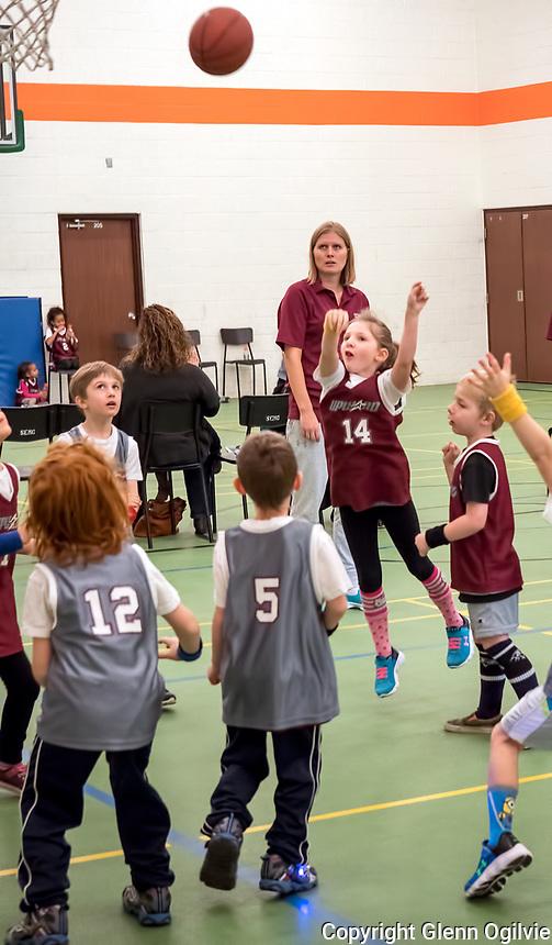 14 Alyiah Batte, 12 Easton Kane, 5 River Kane <br /> <br /> Upward Sports Saturday basketball at Missionary Church