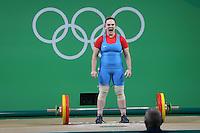 Río 2016 Team Chile - Halterofilia 75kg - María Fernanda Valdés