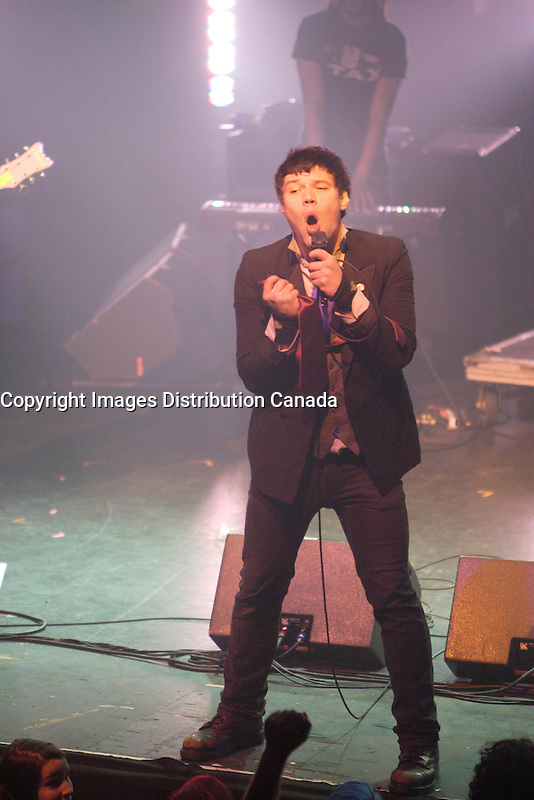 Montreal (QC) CANADA,Nov 21, 2009 - M Pour Montreal showcase at Metropolis : Xavier Caffeine