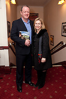 "NO REPRO FEE. 17/1/2010. The Field opening night. Mick and Joan Galway are pictured at the Olympia Theatre for the opening night of John B Keanes 'The Field"" Picture James Horan/Collins"