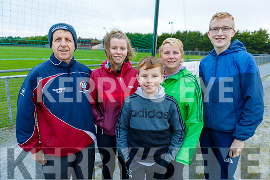 Tom, Gary, Neil, Ann and Tommy Boyle from Scartaglin attending the Kerrie Browne memorial 5K Walk and Run in Brosna on Sunday.