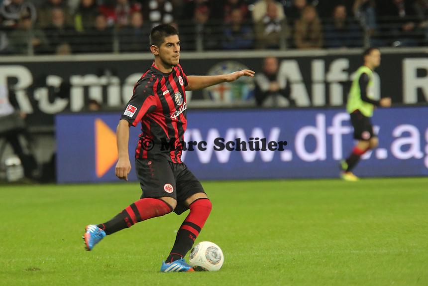 Carlos Zambrano (Eintracht) - Eintracht Frankfurt vs. VfL Wolfsburg, Commerzbank Arena