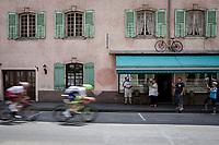 2 man breakaway with breakaway regulars Yoann Offredo (FRA/Wanty-Gobert) & Stéphane Rossetto (FRA/Cofidis)<br /> <br /> Stage 7: Belfort to Chalon-sur-Saône (230km)<br /> 106th Tour de France 2019 (2.UWT)<br /> <br /> ©kramon