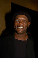 American actor Samuel L. Jackson attend a party thrown by  REMSTAR comapny during the 25th World Film Festival, August 25th, 20001 in Montreal , Canada.<br /> <br /> <br /> <br /> <br /> Photo by Pierre Roussel / Getty Images News Service (ON SPEC)<br /> <br /> <br /> <br /> NOTE : Nikon D-1 JPEG opened with QUIMAGE ICC profile , saved as Adobe RG 1998 color space.