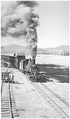 &quot;Coming Close&quot;<br /> D&amp;RGW  Sapinero Branch - Iola, CO  10/9/1953
