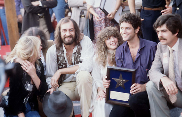 Fleetwood Mac Star on Hollywood Hall of Fame 1979© Nancy Barr / MediaPunch