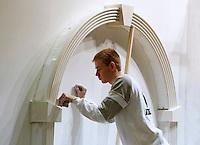 Skills Masters beurs in Rotterdam Ahoy. Banenbeurs/ Beroepskeuze beurs voor VMBO , MBO en lagere school  leerlingen. Vakwedstrijd voor stukadoors