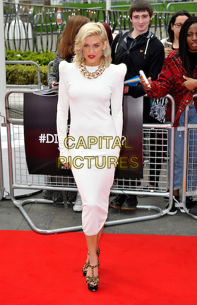 LONDON, ENGLAND - MARCH 30: Ashley Roberts attends the European premiere of 'Divergent' at Odeon Leicester Square on March 30, 2014 in London, England.<br /> CAP/PP/GM<br /> &copy;Gary Mitchell/PP/Capital Pictures