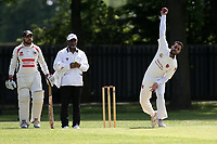 Pulkit of Barking during Barking CC (fielding) vs Redbridge CC, Essex County League Cricket at Mayesbrook Park on 25th May 2019