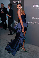 NEW YORK, NY - FEBRUARY 6: Lais Ribeiro arriving at the 21st annual amfAR Gala New York benefit for AIDS research during New York Fashion Week at Cipriani Wall Street in New York City on February 6, 2019. <br /> CAP/MPI99<br /> ©MPI99/Capital Pictures