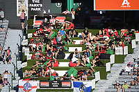 Fans and supporters.<br /> New Zealand Blackcaps v England. 1st day/night test match. Eden Park, Auckland, New Zealand. Day 4, Sunday 25 March 2018. &copy; Copyright Photo: Andrew Cornaga / www.Photosport.nz