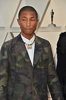 LOS ANGELES, CA. February 24, 2019: Pharrell Williams at the 91st Academy Awards at the Dolby Theatre.<br /> Picture: Paul Smith/Featureflash