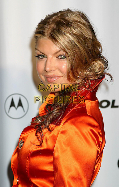 FERGIE - BLACK EYED PEAS.Conde' Nast Media Group Presents Fashion Rocks 2004   Radio City Music Hall in New York City..September 8, 2004 .headshot, portrait.www.capitalpictures.com.sales@capitalpictures.com.© Capital Pictures