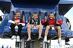 Kola, Sasha and Anton from Belarus enjoying a fun day out in Funtasia Bettystown...(Photo credit should read Jenny Matthews www.newsfile.ie)....This Picture has been sent you under the conditions enclosed by:.Newsfile Ltd..The Studio,.Millmount Abbey,.Drogheda,.Co Meath..Ireland..Tel: +353(0)41-9871240.Fax: +353(0)41-9871260.GSM: +353(0)86-2500958.email: pictures@newsfile.ie.www.newsfile.ie.