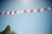 flags all along the route<br /> <br /> Tour of Turkey 2014<br /> stage 3