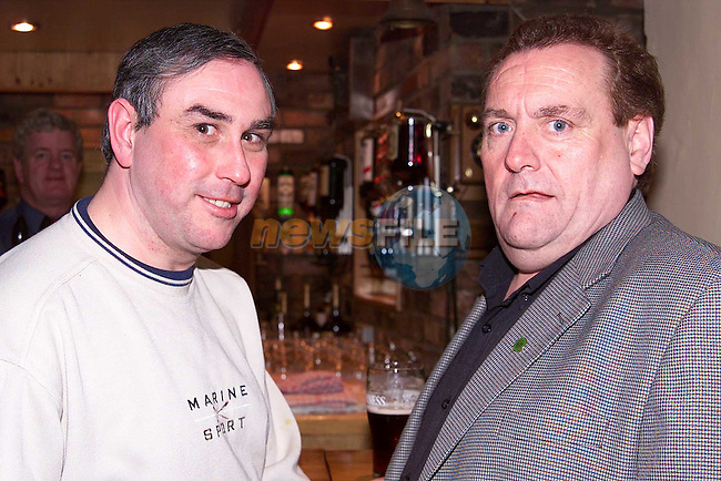 Oliver Dunne, Pearse Park and Matthew Moran, Marian Park pictured in Sweeney's..Picture: Paul Mohan/Newsfile