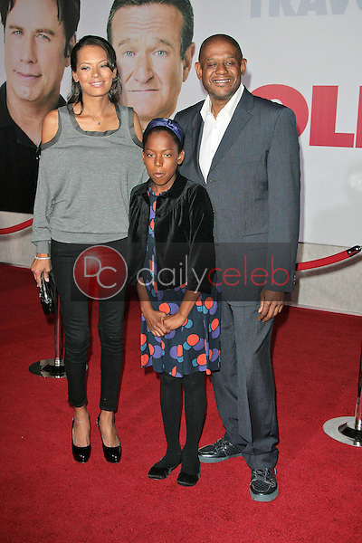 """Forest Whitaker and family<br /> at the """"Old Dogs"""" World Premiere, El Capitan Theatre, Hollywood, CA. 11-09-09<br /> David Edwards/Dailyceleb.com 818-249-4998"""