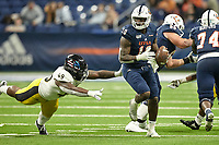 SAN ANTONIO, TX - NOVEMBER 16, 2019: The University of Southern Mississippi Golden Eagles defeat the University of Texas at San Antonio Roadrunners 36-17 at the Alamodome. (Photo by Jeff Huehn)