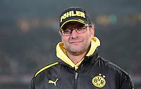 FUSSBALL  DFB-POKAL  VIERTELFINALE  SAISON 2012/2013    FC Bayern Muenchen - Borussia Dortmund          27.02.2013 Trainer Juergen Klopp (Borussia Dortmund)