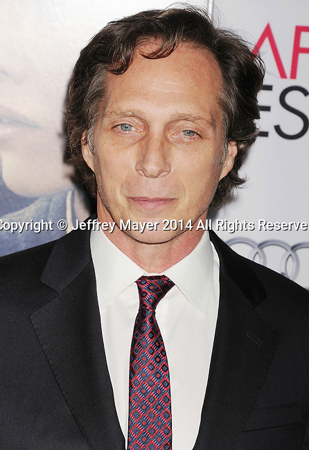 HOLLYWOOD, CA - NOVEMBER 11: Actor William Fichtner attends the 'The Homesman' premiere during AFI FEST 2014 presented by Audi at the Dolby Theater on November 11, 2014 in Hollywood, California.