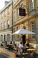 The Garrick's head pub, next to the Theatre Royal, Bath, UK, October 5, 2007. The city of Bath is famed for it's hot springs (the only in the UK) and it's Georgian architecture. The city is a UNESCO World Heritage Site.