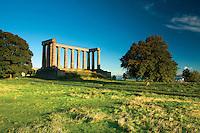 The National Monument of Scotland, Calton Hill, Edinburgh