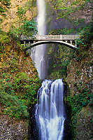 Multnomah Falls in Oneonta Gorge Oregon, USA