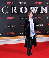 Dame Eileen Atkins<br /> Premiere of The Crown, a new Netflix TV series about the reign of Queen Elizabeth II, at Odeon Leicester Square, London, England November 01, 2016.<br /> CAP/JOR<br /> &copy;JOR/Capital Pictures /MediaPunch ***NORTH AND SOUTH AMERICAS ONLY***