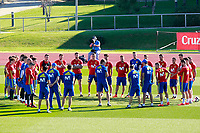 Spain's team during training session. October 3,2017.(ALTERPHOTOS/Acero)<br /> <br /> Foto Alterphotos / Insidefoto <br /> ITALY ONLY